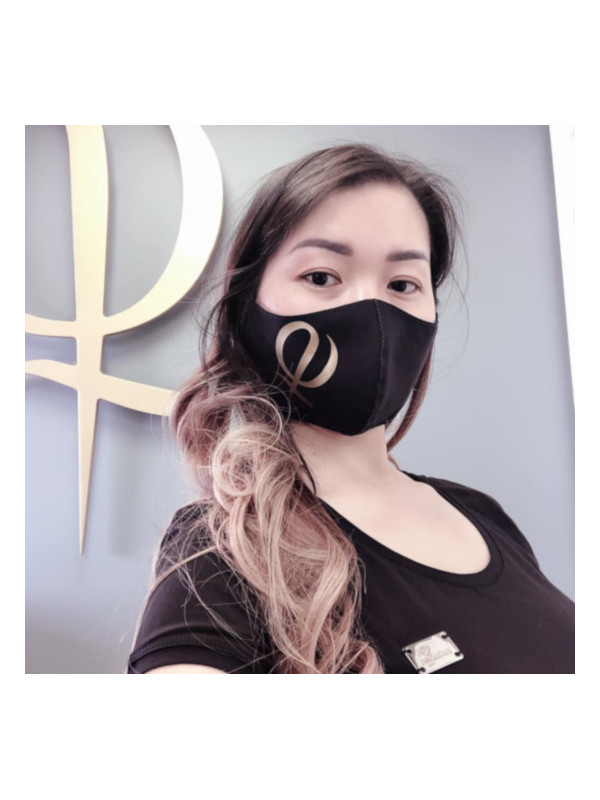 Cloth Facemask With Phi Logo 6pcs