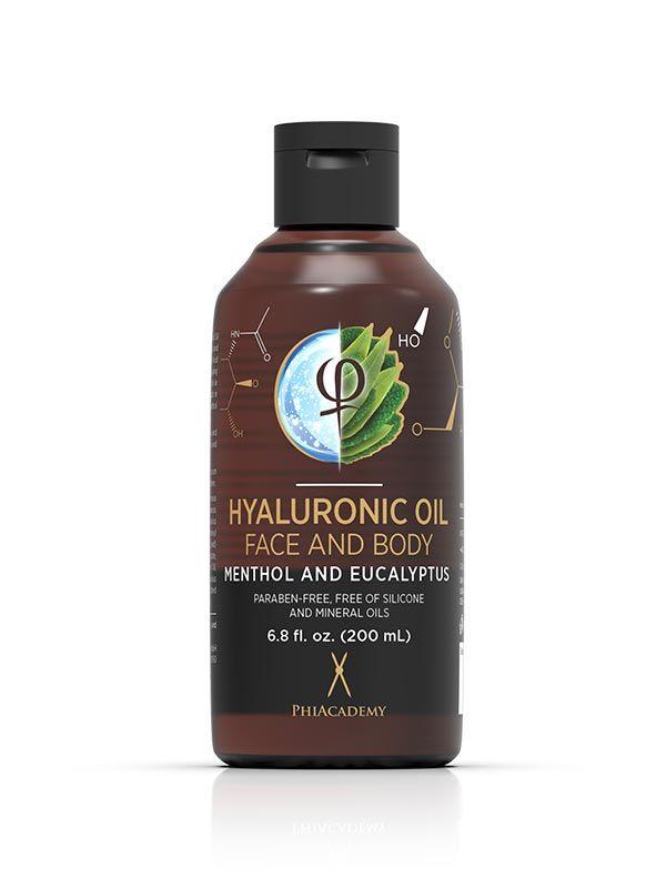 Hyaluronic Oil - Menthol and Eucalyptus 200ml