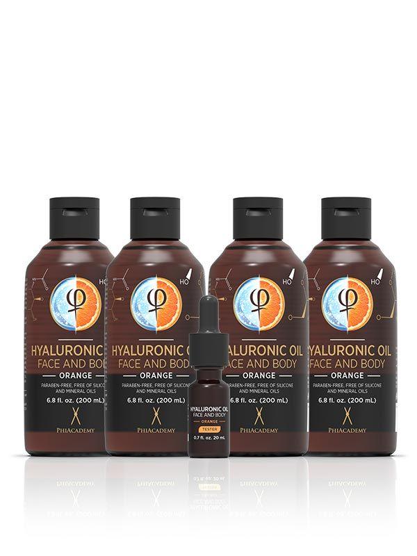 Hyaluronic Oil - Orange 200ml 4pcs