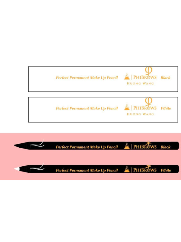 Master Huong Wang Make Up Pencil White 12PCS