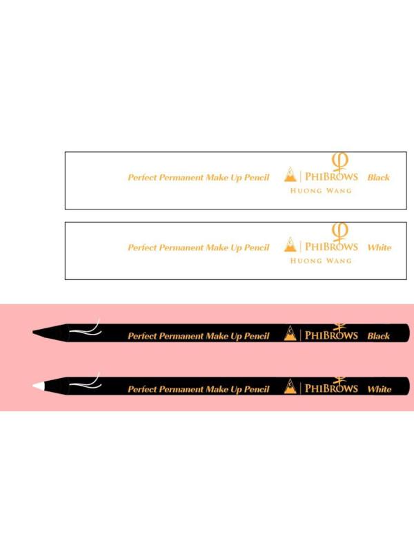 Master Huong Wang Make Up Pencil White 12PCS