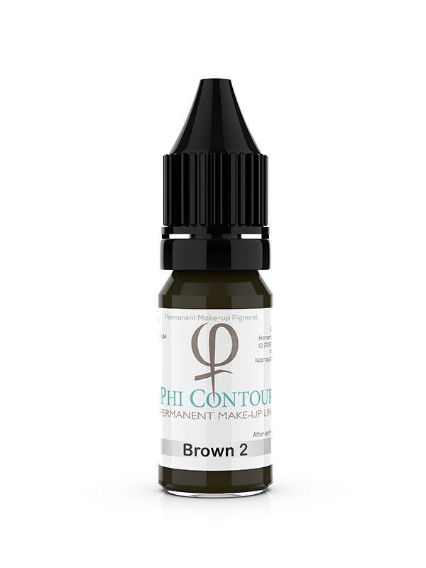 PhiContour Brown 2 Pigment 10ml
