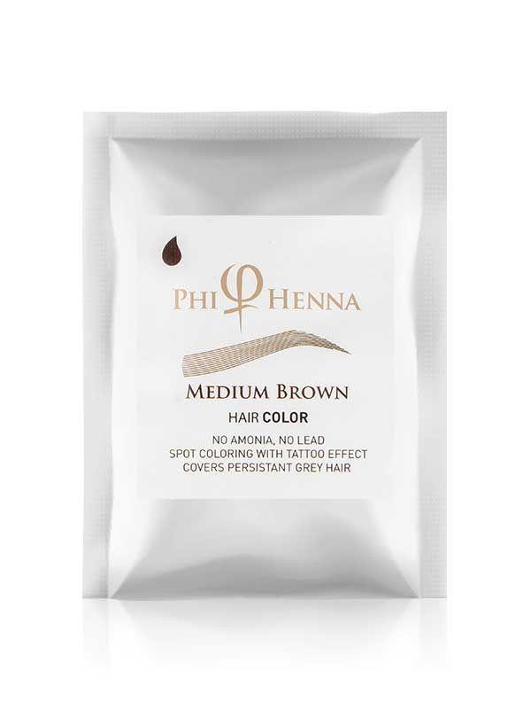 PhiHenna Medium Brown